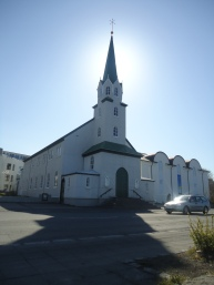 A church in Reykjavik
