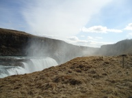 The spray of the Gullfoss